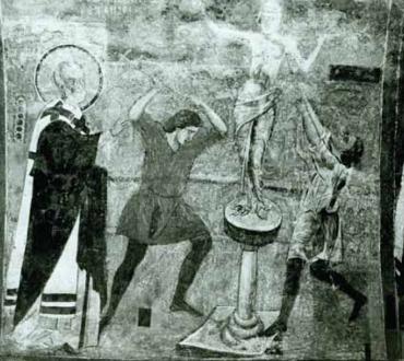 Под паважите на София: Афродита в Боянската църква
